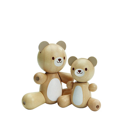 Plan Toys Bear and Little Bear