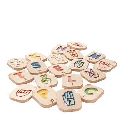 Plan Toys Hand Sign Alphabet A-Z