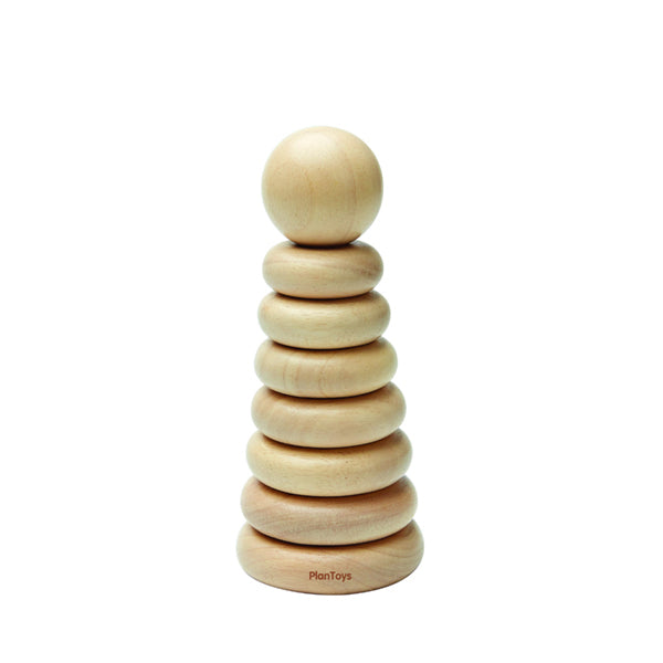 Plan Toys Stacking Ring - Natural