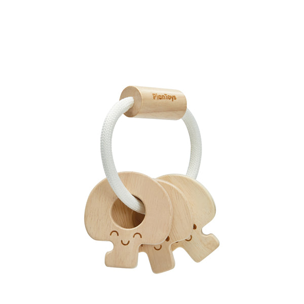 Plan Toys Key Rattle – Natural