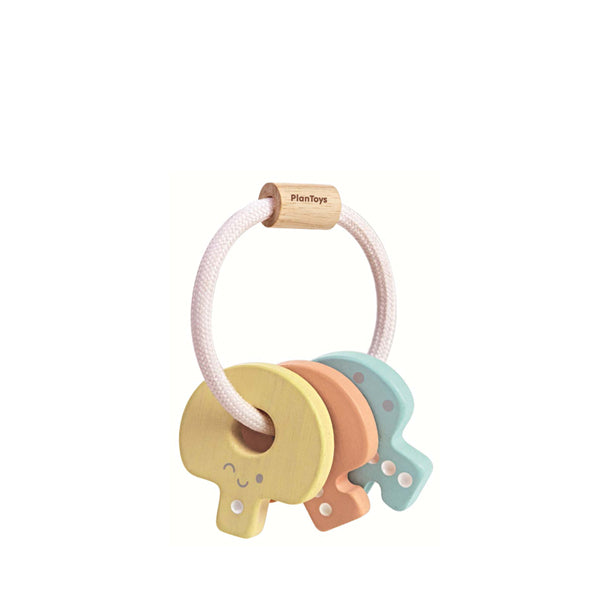 Plan Toys Key Rattle – Pastel