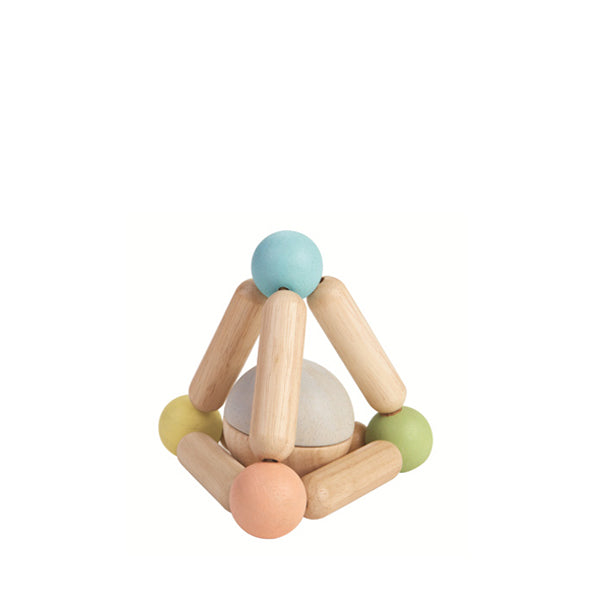 Plan Toys Triangle Clutching Toy – Pastel