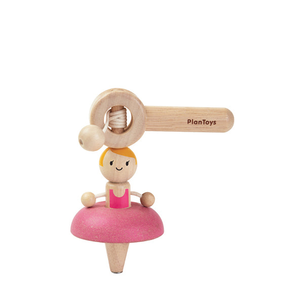 Plan Toys Ballerina Spinning Top