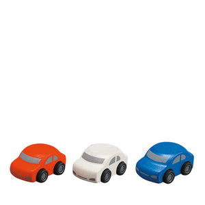 Plan Toys Family Cars - 3 Pcs
