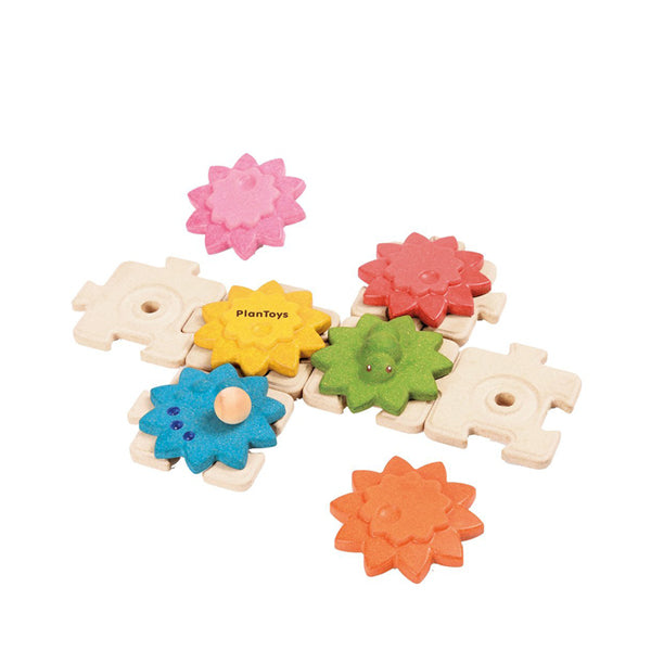 Plan Toys Gears & Puzzles - Standard
