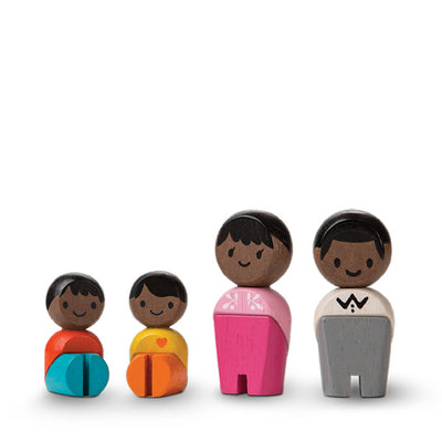 Plan Toys Family - Afro/American