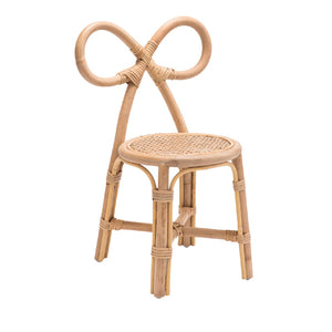 Poppie Rattan Bow Chair