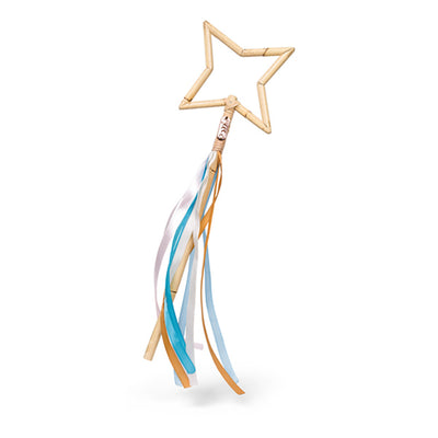 Poppie Rattan Magic Wand - Star