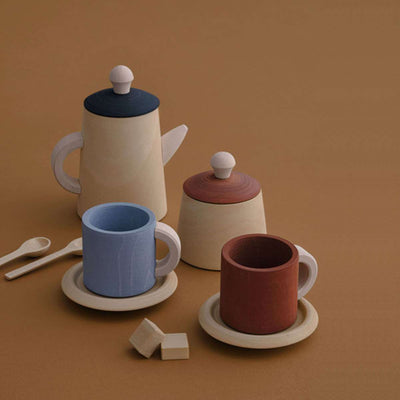 Raduga Grëz Tea Set - Terra and Blue