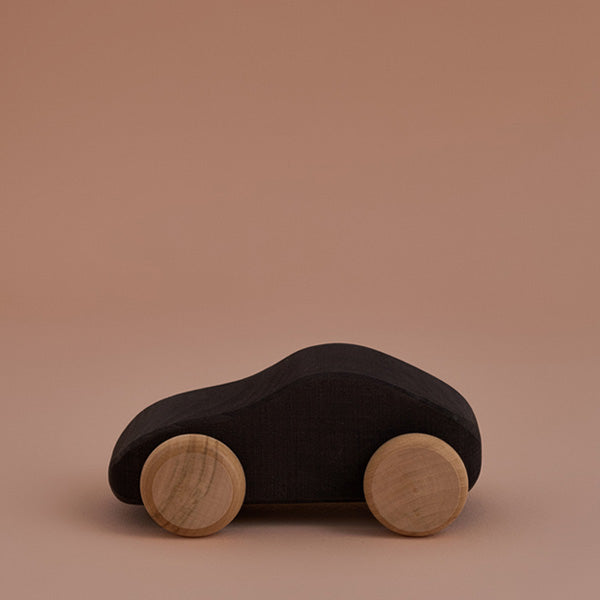 Raduga Grëz Wooden Toy Car – Black