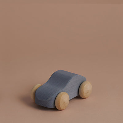 Raduga Grëz Wooden Toy Car – Grey