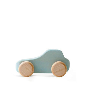 Raduga Grëz Wooden Toy Car – Light Blue