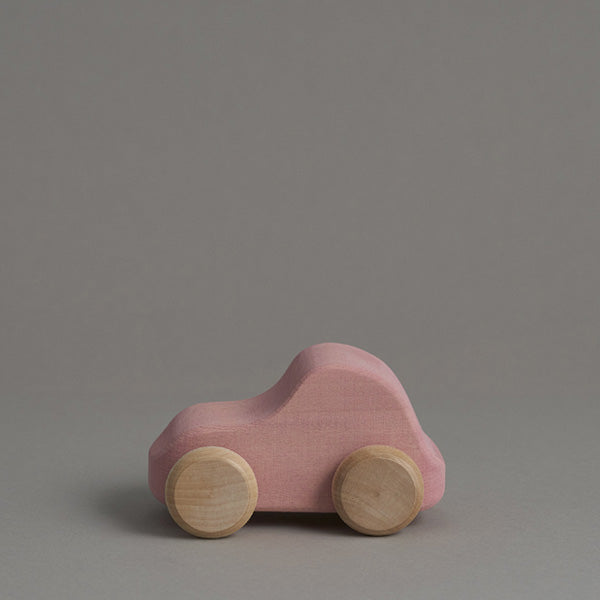 Raduga Grëz Wooden Toy Car – Pink