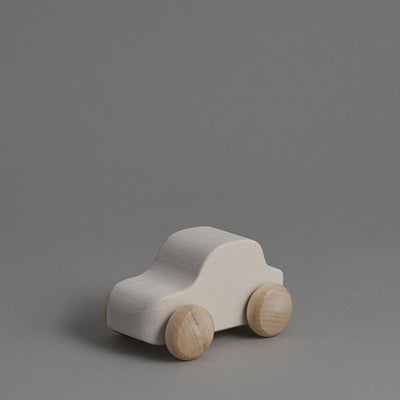 Raduga Grëz Wooden Toy Car – White