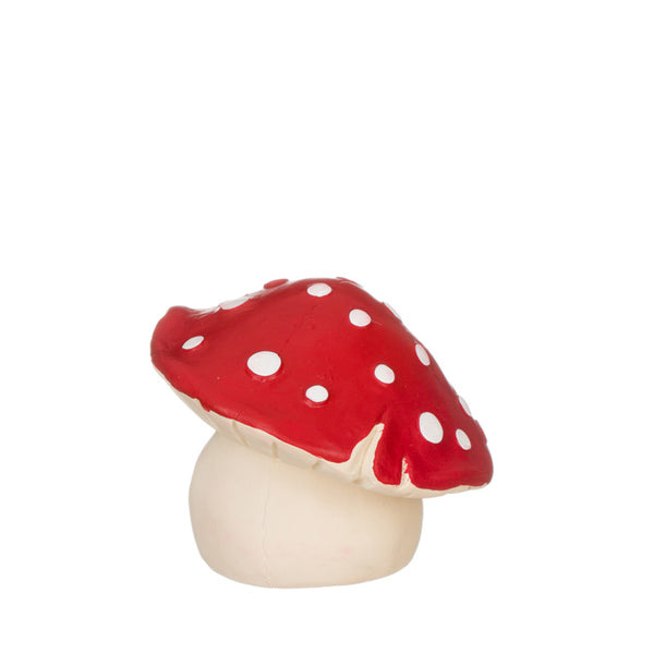 Lanco Natural Rubber Toy - Squeaky Red Mushroom Large