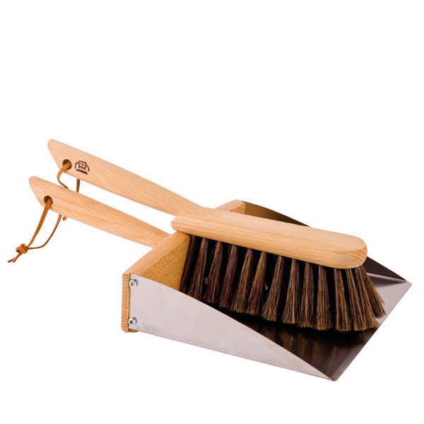 Redecker Dustpan / Hand Brush Set with Magnet