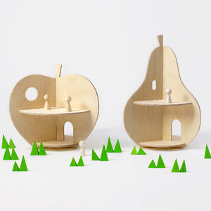 Rock and Pebble Dollhouse – Pear