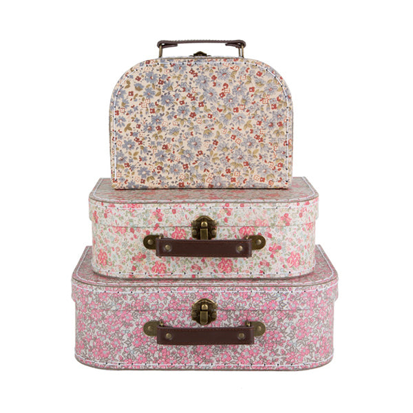 Sass and Belle Set of 3 Suitcases – Vintage Floral