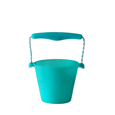 Scrunch Bucket - Aqua Green