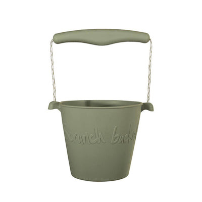 Scrunch Bucket - Misty Grey