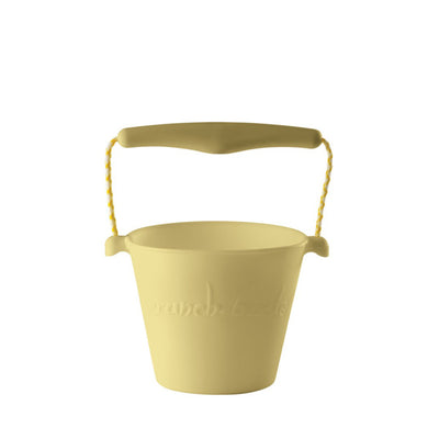 Scrunch Bucket – Pastel Yellow