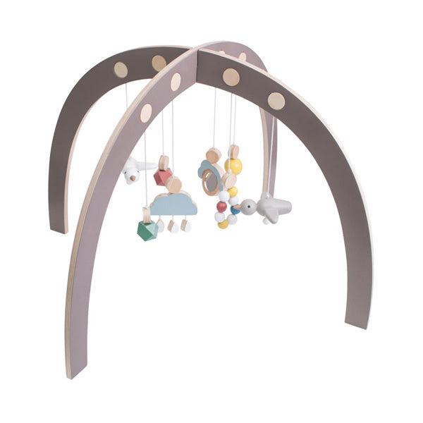 Sebra Baby Gym - Warm Grey