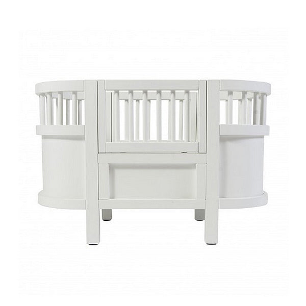 Sebra Wooden Dolls Bed Kili - White