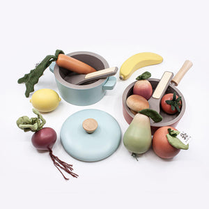 Sebra Food - Wooden Veggies