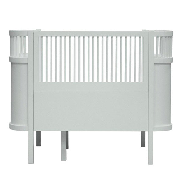 Sebra Bed Baby and Junior - Mist Green