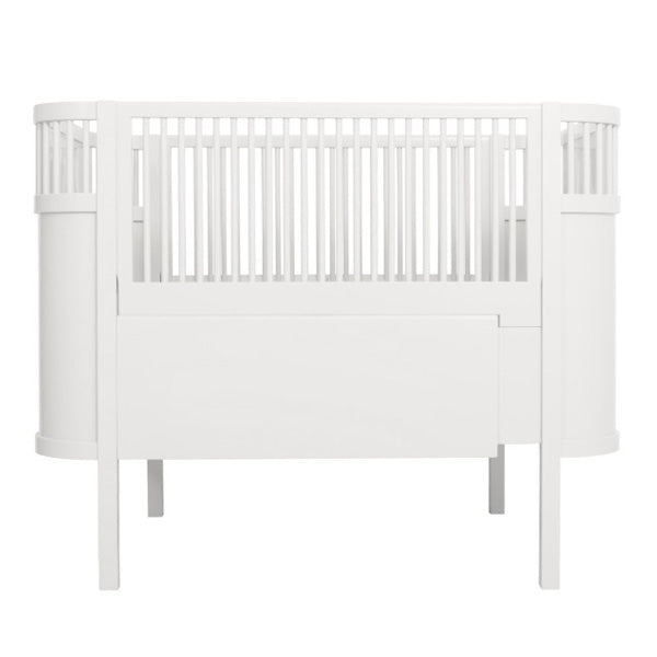 Sebra Bed Baby and Junior – White