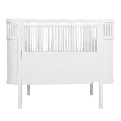 Sebra Kili Bed Baby Junior White