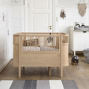 Sebra Bed Baby and Junior – Wooden Edition