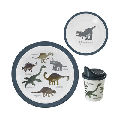 Sebra Melamine Dinner Set 3 pcs - Dino