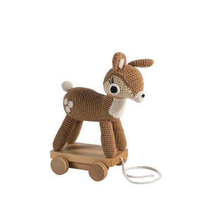 Sebra Pull Along Toy - Deer Bambi
