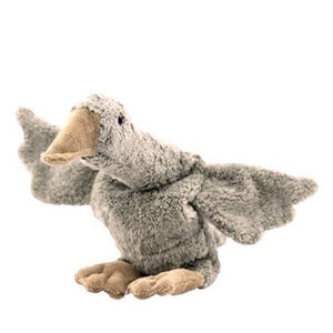 Senger Naturwelt Cuddly Animal / Heat Cushion - Goose Grey Large