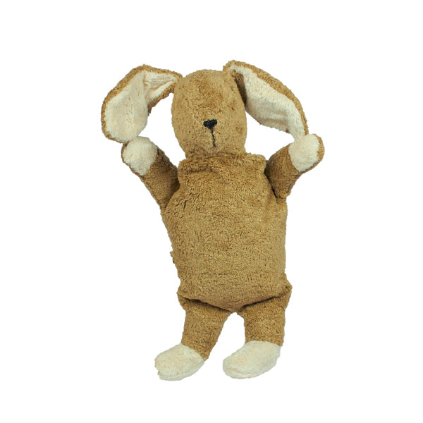 Senger Naturwelt Cuddly Animal / Heat Cushion - Rabbit Beige Small