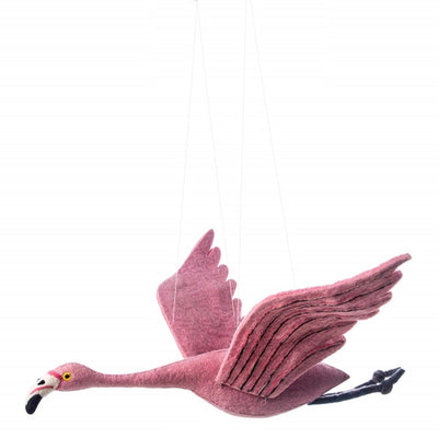 Sew Heart Felt Mobile - Alice Flamingo
