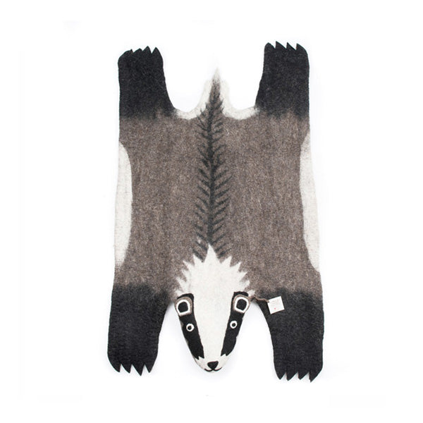 Sew Heart Felt Billie Badger Rug
