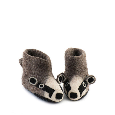 Sew Heart Felt Billie Badger Slippers