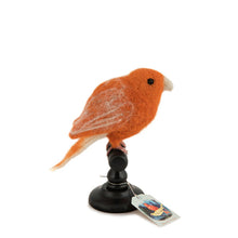 Sew Heart Felt Felt Bird Taxidermy – Red Norwich Canary