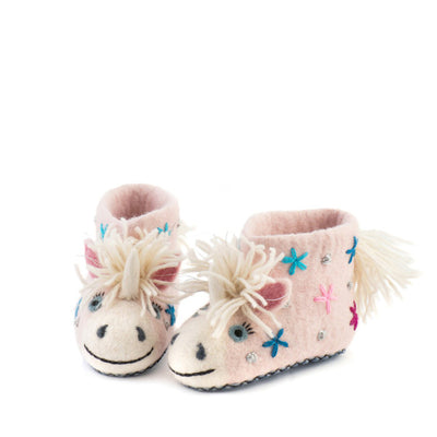 Sew Heart Felt Celeste the Unicorn Slippers