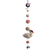 Sew Heart Felt Decorative Pom Pom Mobile - Odette Swan