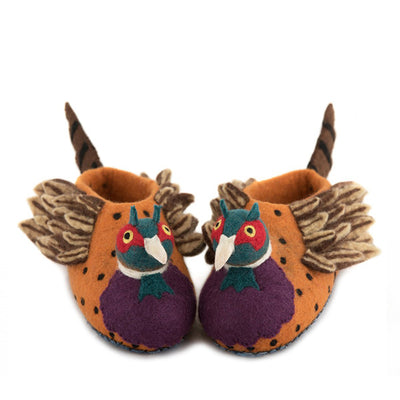 Sew Heart Felt Pheasant Slippers - Adult