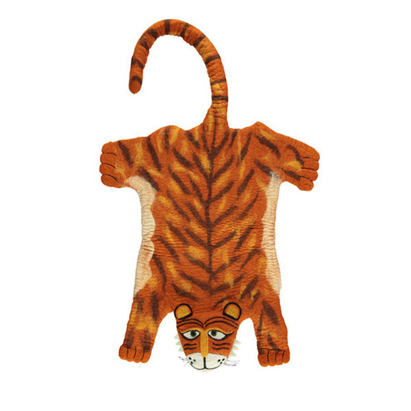 Sew Heart Felt Raj the Tiger Rug