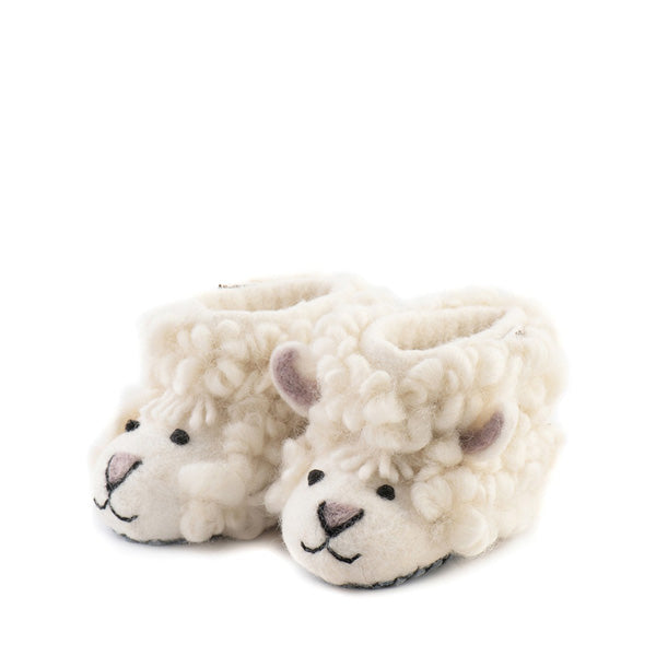 Sew Heart Felt Shirley Sheep Slippers