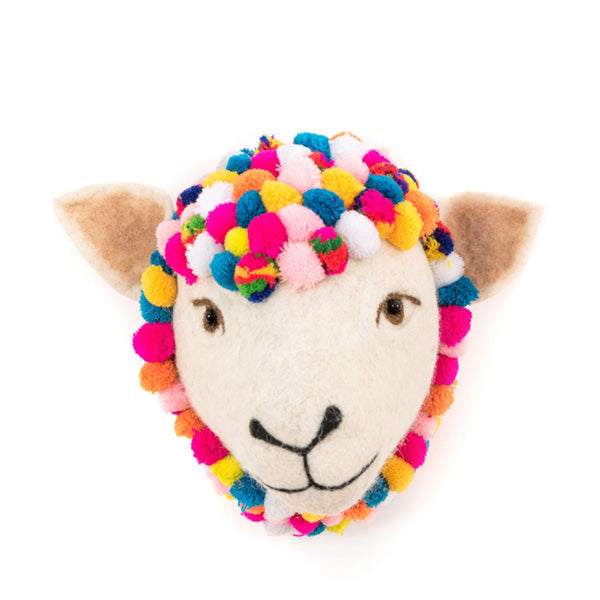 Sew Heart Felt Animal Head - Jazzy Sheep