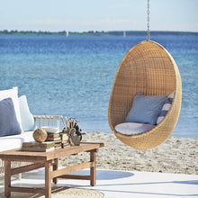 Sika Design Hanging Egg Chair Exterior from Nanna Ditzel - Natural
