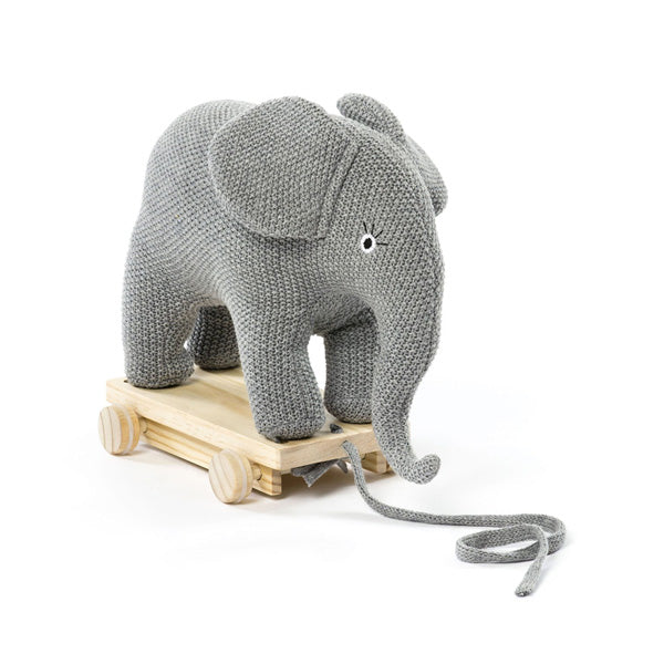 Crochet Elephant Stuff Animal - Miniature Elephant Amigurumi ... | 600x600