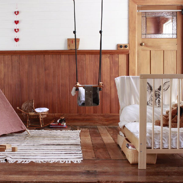 Baby Schommel Bed.Solvej Swings Baby And Toddler Swing Classic Taupe Elenfhant