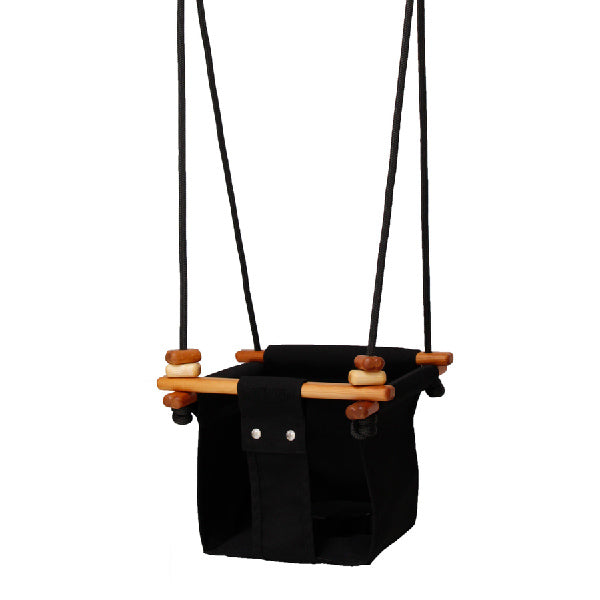 Solvej Swings Baby and Toddler Swing – Coral Black
